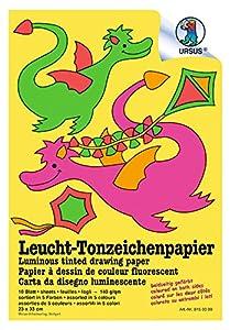 Ursus 8150099 Arte de papel 10hojas - Papel decorativo (Arte de papel, 10 hojas, Niño, 140 g/m², 230 mm, 330 mm)