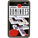 #4: Jonquin Double Nine Domino Game Set with 55 Domino Tiles