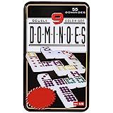 Jonquin Double Nine Domino Game Set with 55 Domino Tiles