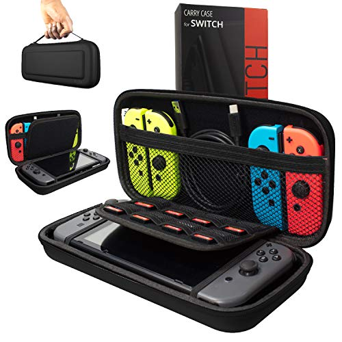 ORZLY® Funda Transportar Nintendo Switch - Negro