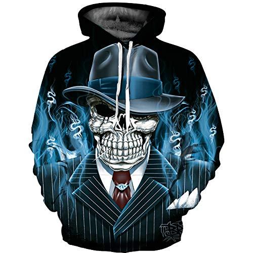 Kanpola Kapuzenpullover Herren Damen 3D Druck Hoodie Sweatshirt -