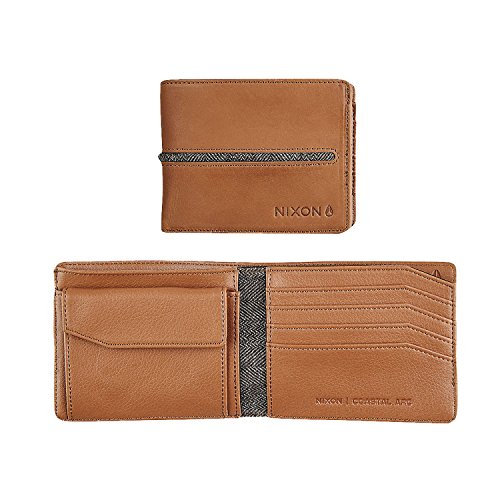 -Fold Coin Wallet Münzbörse, Saddle ()