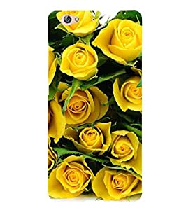 Fuson Designer Phone Back Case Cover Gionee S6 ( Bunch Of Yellow Roses )