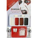 Kit de maquillaje vampiro con lentillas adulto Halloween