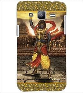 PrintDhaba Lord Krishana D-3077 Back Case Cover for SAMSUNG GALAXY J2 (Multi-Coloured)