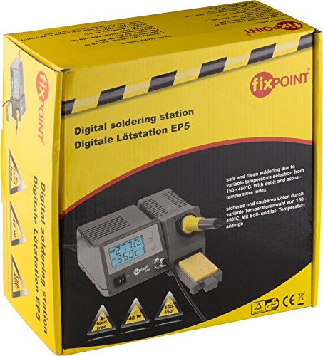Fixpoint EP5 – Estación de soldadura digital Kit del Soldador Con