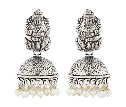 le-jewelbox-temple-lakshmi-oxyde-antique-allemand-argent-perle-boucles-doreilles-jhumki-floral-pour-