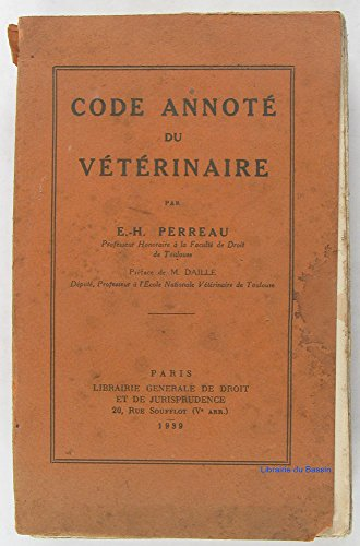 Code annoté du vétérinaire