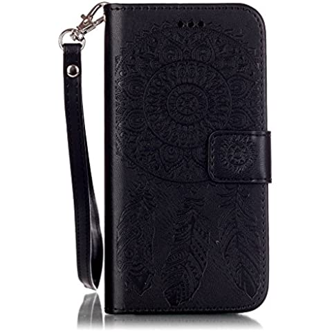 OnPrim Muti Function PU Leather Card Slot Wallet Pocket Holster 360 Full Protection Flip Cover Holder Stand Case For iPhone 5 5s SE 4 Inth