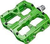 Reverse Escape Flat Fahrrad Pedal liquid grün