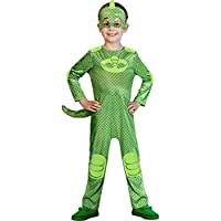 Childrens Size PJ Masks Gekko Costume Small 3-4 years