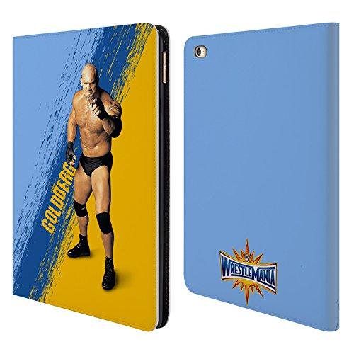 Offizielle WWE Goldberg Wrestlemania 33 Brieftasche Handyhülle aus Leder für iPad Air 2 (2014) (Ipad Air 2 Case-hulk)