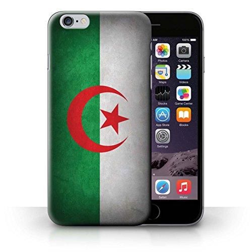 Hülle für iPhone 6+/Plus 5.5 / Schweiz/Swiss / Flagge Kollektion Algerien/Algerische