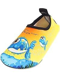 Zapatillas de Piscina Niño Niña Aqua Swim Calzados Descalzos
