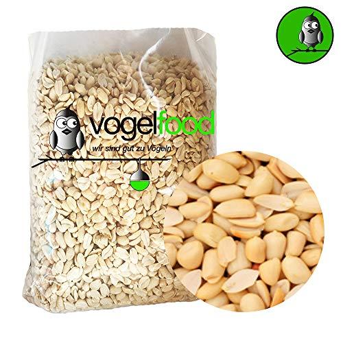 Samore 15 KG Erdnusssplits blanchierte Erdnüsse Splits Qualität Versand mit DHL