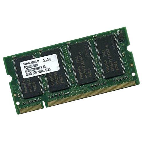 Hynix 256 MB RAM Laptop HYMD232M646A6H SODIMM DDR PC2-2100 CL 2.5 -