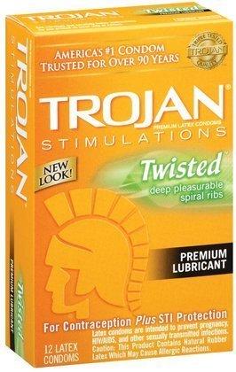 trojan-stimulations-twisted-pleasure-lubricated-latex-condoms-12-ct-quantity-of-3-by-trojan