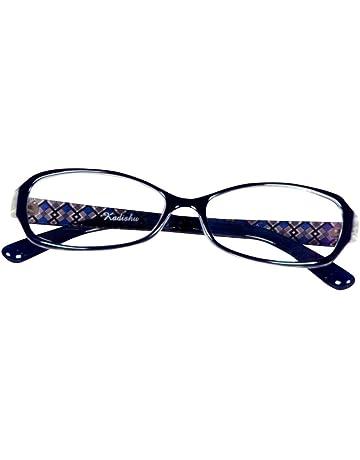 980a940af2c8 Lensport Eyewear Full Rim Glossy Blue Multicolour Plastic Acrylic  Rectangular Frame Spectacle for Women (SKUK8158C7