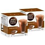Nescafé Dolce Gusto Chococino Kakao, Schokolade, Kakaokapsel, 2er Pack, 2 x 16 Kapseln (16 Portionen)