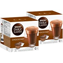 "Nescafe Dolce Gusto ""Ocino Cocoa Chocolate Cocoa Capsules, Pack of 2, 2 x 16 Capsules (16 Servings)"
