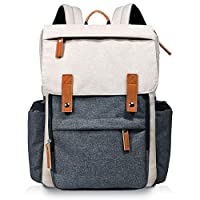 Hap Tim Diaper Bag Backpack Muilti-Function Waterproof Large Capacity Travel Diaper Backpack for Baby Care with Stroller Straps,Insulated Pockets(K1004AE-WG)