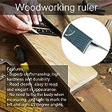 Ángulo de la Regla Plástico Carpintería Ángulo 3D Regla Woodcraft Tipo de T Tipo Multifuncional de 90 Grados