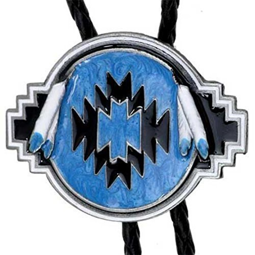 Indianer-muster-krawatte (Bolo Tie Indianer-Muster, Dreamcatcher, Western, Bolotie)