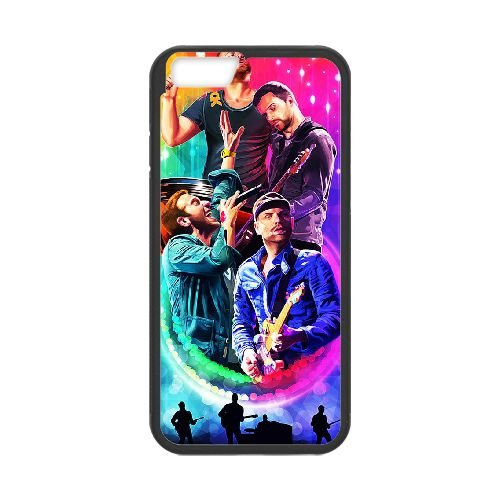 Coldplay coque iPhone 6 4.7 Inch Housse téléphone Noir de couverture de cas coque EBDXJKNBO17039