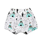 Covermason Bebé Unisex Niños Niñas Multicolor Impresión Pantalones Cortos (6M, E)