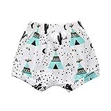 Covermason Bebé Unisex Niños Niñas Impresión Pantalones Cortos (6M, E)