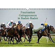 Faszination Galopprennen in Baden-Baden (Wandkalender 2016 DIN A4 quer): Galoppsport in Iffezheim, Baden-Baden (Monatskalender, 14 Seiten) (CALVENDO Sport)