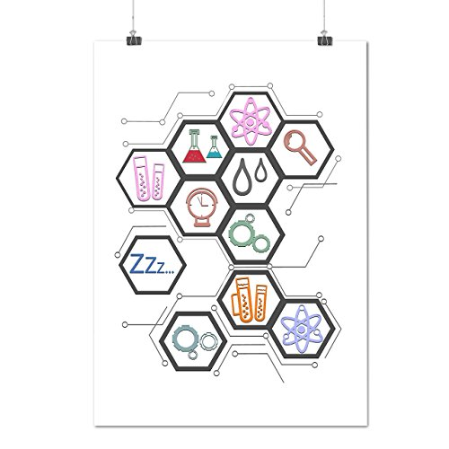 science-amour-impression-geek-la-matte-glace-affiche-a1-84cm-x-60cm-wellcoda