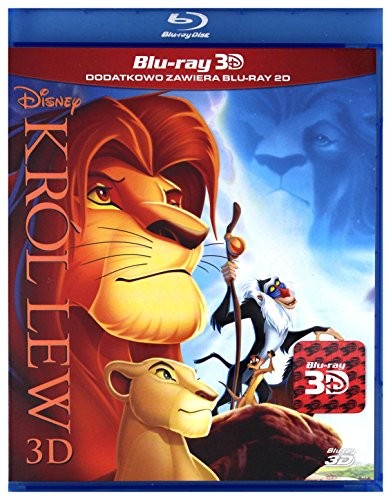 Król Lew / The Lion King [Blu-ray + Blu-ray 3D] [PL Import]