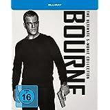 Bourne Box 1-5 (Steelbook) (exklusiv bei Amazon.de) [Blu-ray]