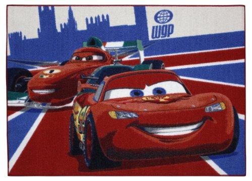 Associated Weavers Cars 26 - Alfombra con diseño de McQueen y Francesco (95 x 133 cm)