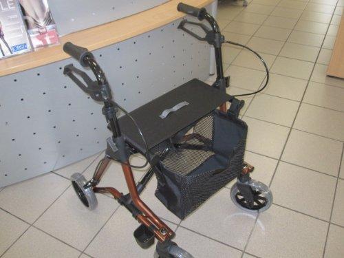 Dietz Taima M Leichtgewichtrollator Faltbar Rollator Inklusive Korbnetz Pannensichere Bereifung