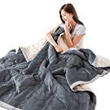 Tao Decke Quilt Winter Dicke Decke antistatische Decke warme Dicke Decke, warme Flauschige Throws für Bett Sofa und Couch (größe : 180×200cm)