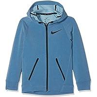 Nike B Nk Dry FZ Hyper FLC Sudadera, niños, Azul (Blue Jay/