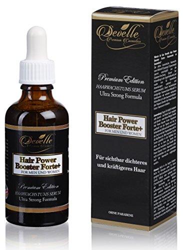 Hair Power Booster Forte+ 50 ml. Haarwachstums-Serum Haarwachstumsmittel gegen Haarausfall I Für sichtbar dichteres und kräftigeres Haar I Anti-Haarausfall Serum...