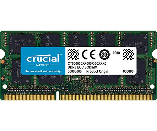 Crucial 4GB CT51264BF160B 204-pin SODIMM DDR3 PC3-12800 memory module