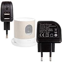 Chargeur Secteur USB puissant pour Withings Home Caméra de Surveillance Wi-Fi avec Suivi de la Qualité de l'Air - (charge rapide 2 Amp) DURAGADGET