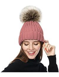 Amazon.es  lana - Gorros de punto   Sombreros y gorras  Ropa b56b8543822