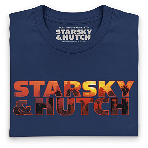 Official Starsky And Hutch Sunset Logo, Damen Dunkelblau