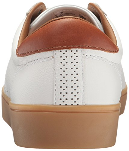 Fred Perry Spencer Tumbled Leather White White