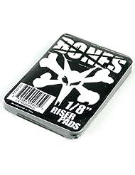 """Bones Skateboard almohadillas elevador Pack de 2negro 1/8"""""""