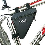 Fahrrad Dreiecktasche Fahrrad Rahmentasche Triangle Bicycle Bag für Mountainbikes und Fahrräder
