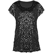 timeless design 0870b 07c92 Suchergebnis auf Amazon.de für: glitzer shirt damen