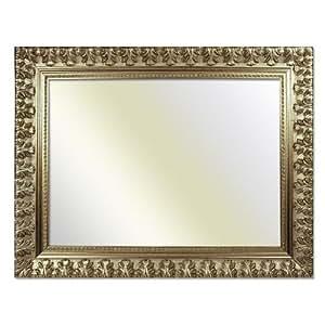 cadre baroque 750 arg argent 70 x 100 cm miroir cuisine maison. Black Bedroom Furniture Sets. Home Design Ideas