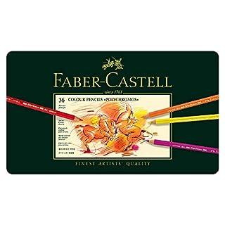 Faber-Castell 110036 - Künstlerfarbstift POLYCHROMOS, 36er Metalletui (B0007OECKI) | Amazon Products
