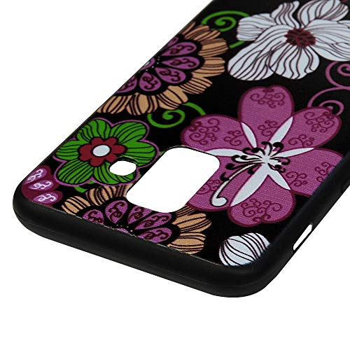 LaVibe 3 X Coques Samsung Galaxy A6 2018, Étui Gel Silicone TPU Transparant Protecteur Housse Anti-Rayures Pare-Chocs Bumper Souple Ultra Slim Flexible Soft Case Cover - Horloge